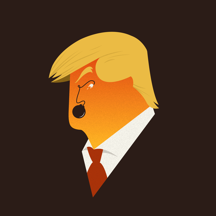 Trump: style and lexicon